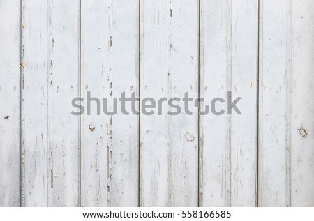 Grunge vintage white gray wood background.