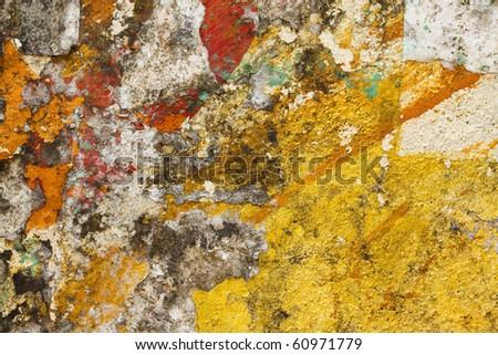 Grunge Wall Art - stock photo
