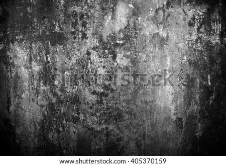 grunge wall background - stock photo