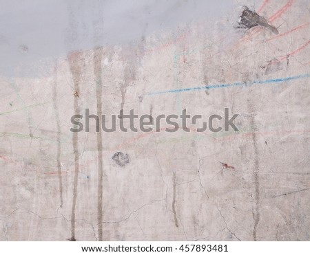 Grunge wall for texture or background - stock photo