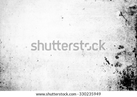 Grunge wall in black and white for texture background - stock photo