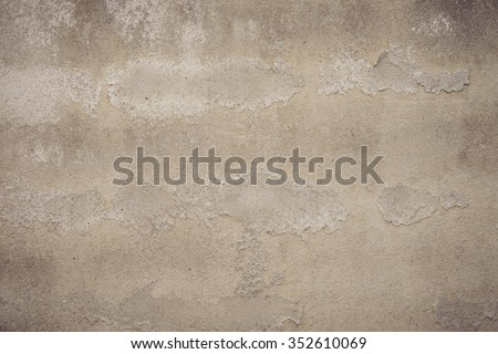 grunge wall texture, Grunge cracked concrete wall - stock photo