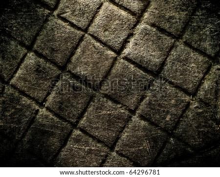 Grunge wall texture, underground grunge background - stock photo