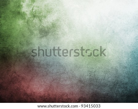grunge wall used as background. - stock photo