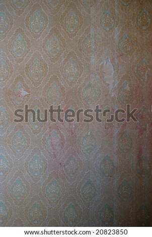 grunge wallpaper - stock photo