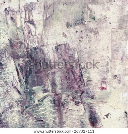 Grunge watercolor acrylic painting. Abstract background. - stock photo