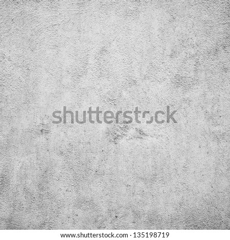 Grunge white plaster or concrete texture or background. - stock photo