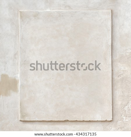 grunge white stucco vintage wall texture background - stock photo
