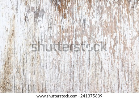 Grunge white wood, can be used as background. - stock photo