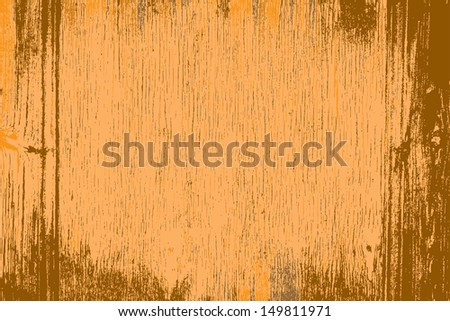 Grunge wood background, color grainy texture. - stock photo