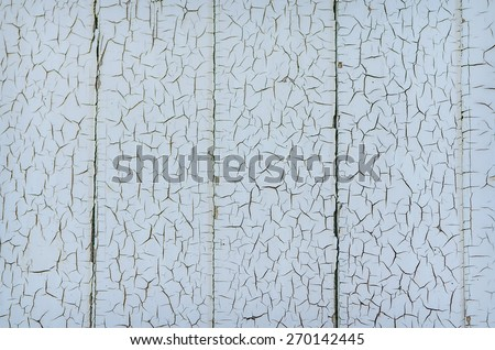 Grunge wood close-up background. Painted old wooden wall. - stock photo