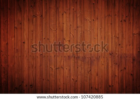 grunge wood panels used as background. - stock photo
