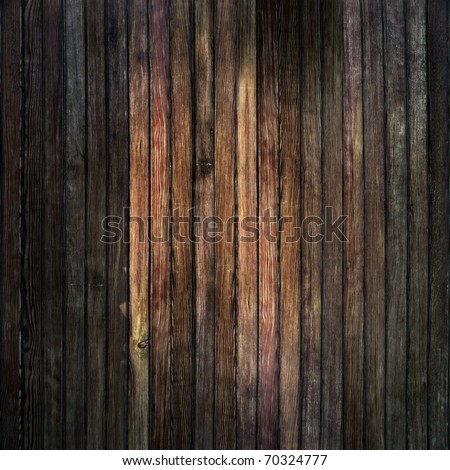 Grunge wood panels used as background - stock photo