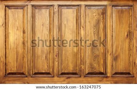 grunge wood panels used as background , old wood background - stock photo