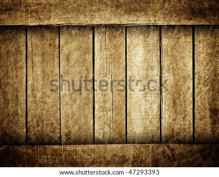 grunge wood plank - stock photo
