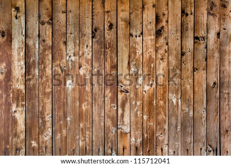 Grunge wooden batten texture - stock photo