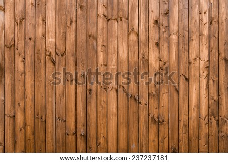 grunge wooden wall used as background; oak - stock photo