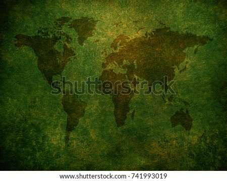 Computer generated digital grunge world map stock illustration grunge world map background gumiabroncs Gallery