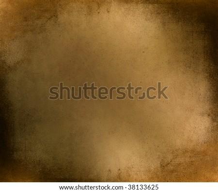 grunge yellow suede textured background - stock photo