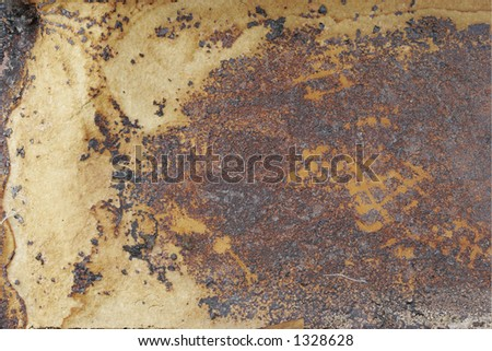 grungy abstract background - stock photo