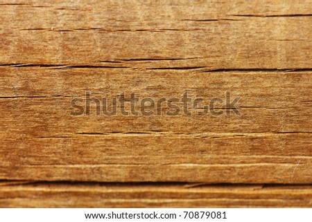 Grungy and brown wooden textured background. - stock photo