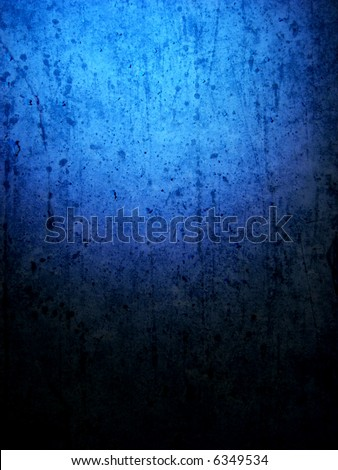 grungy blue background vertical - stock photo