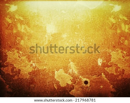 Grungy brown background - stock photo