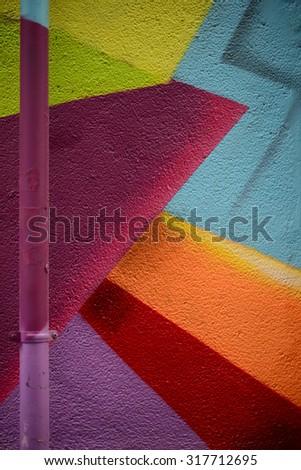 Grungy concrete surface - stock photo