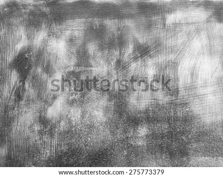 Grungy concrete wall background. Grunge raw and monochrome texture for your design. Detailed gray texture. - stock photo