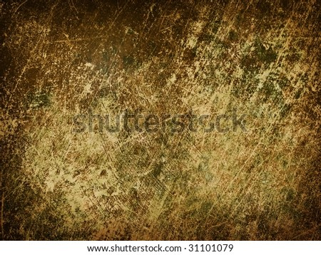 grungy distressed wall - stock photo