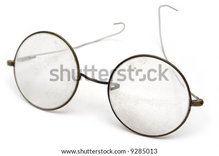 Grungy Eyeglasses - stock photo