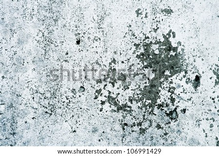 Grungy gray concrete wall texture - stock photo