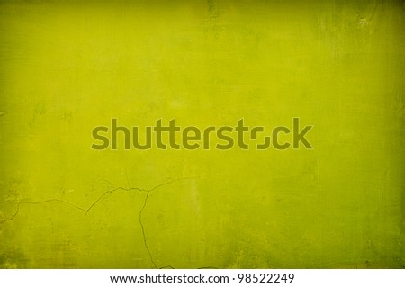 grungy green vintage concrete background with shadows added - stock photo