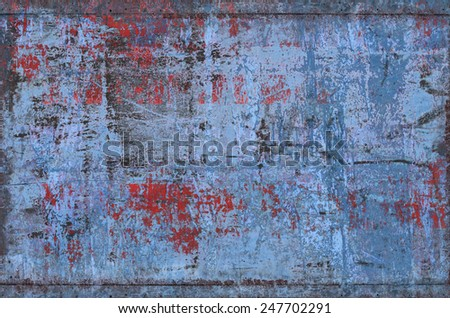 Grungy Metal Texture (Part of Grungy Textures set, which includes textures that can be used together to create a huge image) - stock photo