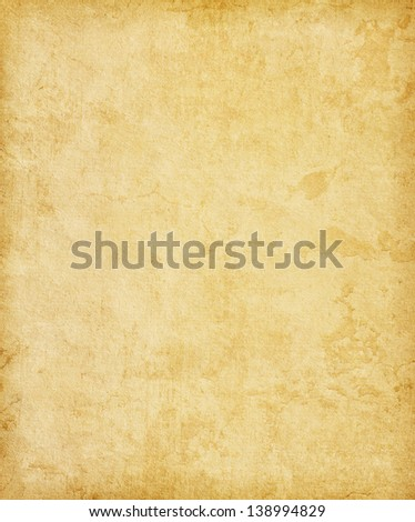Grungy Old Paper Background - stock photo