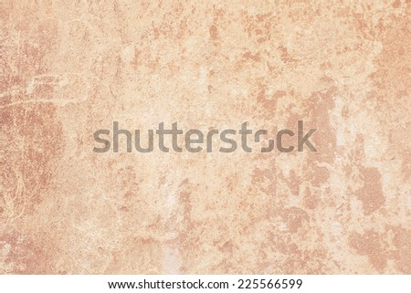 Grungy old vintage wall (aged facade) background with blank grunge shabby texture (stained retro surface). Usable for backdrop design - stock photo