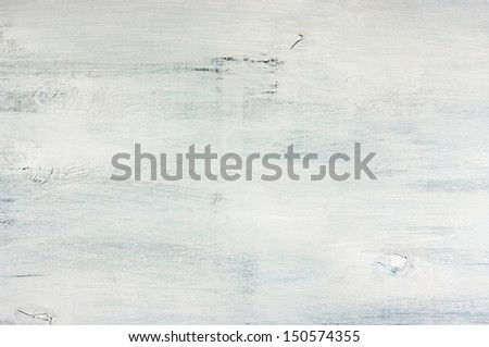 Grungy painted wood texture as background. - stock photo