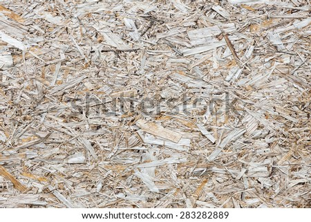 Grungy painted wooden plywood wall. Background photo texture - stock photo
