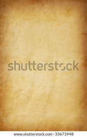 grungy paper background for multiple uses - stock photo