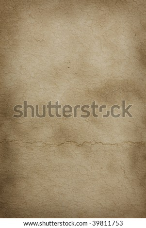 Grungy parchment texture - stock photo