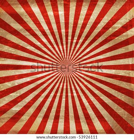 Grungy Patriotic Background - stock photo