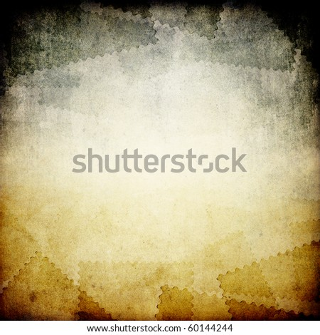 Grungy postage background with copyspace. - stock photo