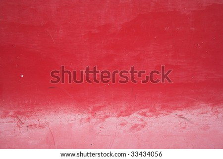 Grungy Red plastic texture depth of field - stock photo