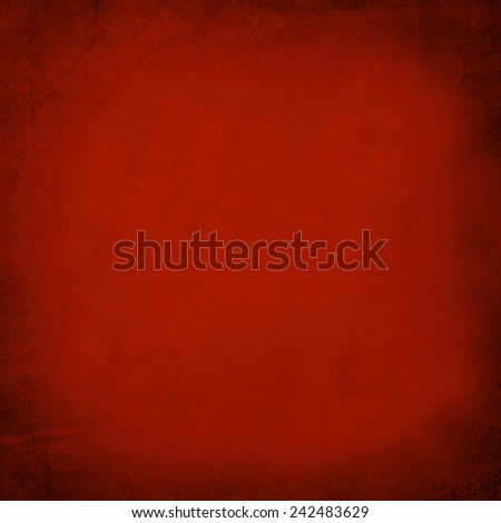 Grungy red sandstone wall - stock photo