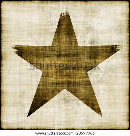 Grungy star background