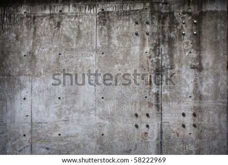 Grungy stone wall - stock photo