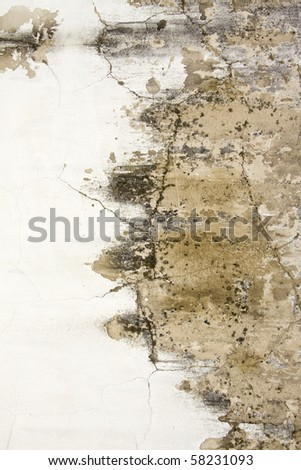 Grungy stone wall artistic background - stock photo