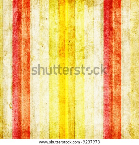 Grungy striped colored background - stock photo