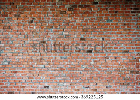 Grungy urban background of a brick wall with an old vintage still life