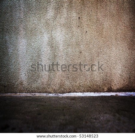 Grungy urban wall - stock photo